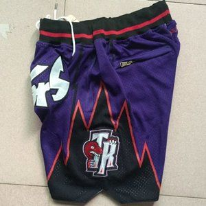 New Just Don NBA Toronto Raptors Basketball Shorts